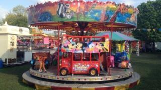 fun fair ride
