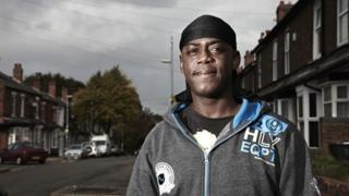 Smoggy, one of the people featured in Channel 4's documentary Benefits Street