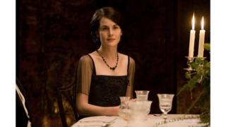 Lady Mary Crawley, played by Michelle Dockery, in Downton Abbey
