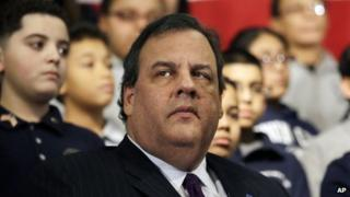 New Jersey Governor Chris Christie appeared in Union City, New Jersey, on 7 January 2014