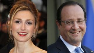 Gayet and Hollande