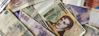 Argentina bank notes