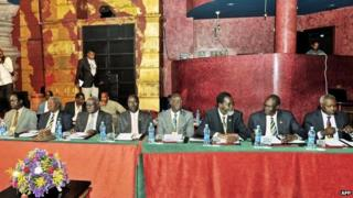 South Sudan peace talks, 13 January