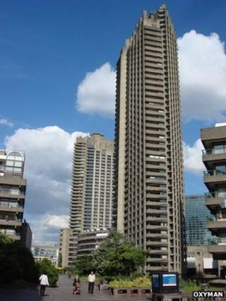 Shakespeare Tower, Barbican