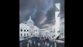 The tower will be built on the Cornhill