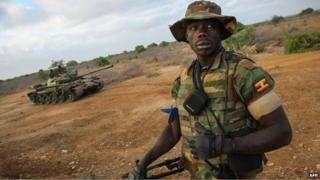 Uganda soldier (file photo)