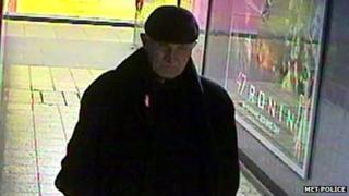CCTV image of Vasile Belea