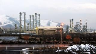 Iran's Arak heavy water facility, 15 January 2011