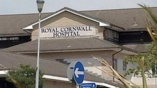 Royal Cornwall Hospital, Treliske, Truro