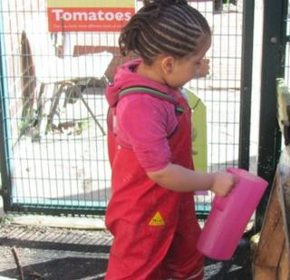 Child in a nursery