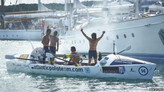 The Atlantic Polo Team arrives in Antigua