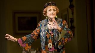 Angela Lansbury as Madame Arcati in Blithe Spirit on Broadway in 2009