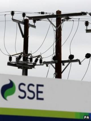 SSE logo at the SSE Training Centre in Perth