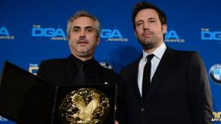Alfred Cuaron and Ben Affleck