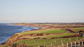 Kirk Michael Coastline, Isle of Man