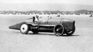 Malcolm Campbell in Pendine