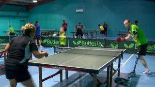 Table tennis at Drumchapel