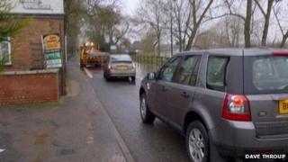 Hanley Road in Upton-upon-Severn