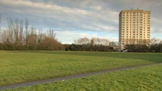 Area under consultation for gypsy and traveller site, Stockton