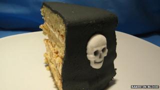 Death Cafe cake