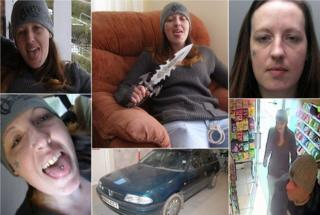 montage of Joanne Dennehy
