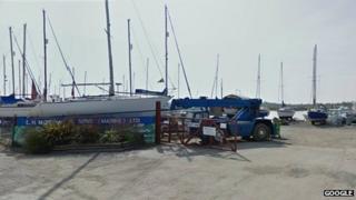 Morgans boat yard