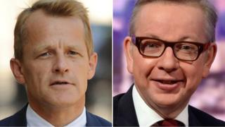 David Laws, left, and Michael Gove