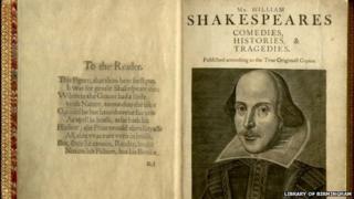 The first folio