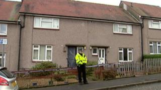 The house in Whins of Milton where Ryan McKechnie was found dead
