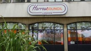 Harrow Council building