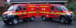 Animal rescue vehicles