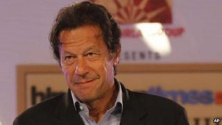 Imran Khan, file pic