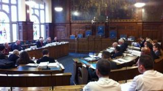 The meeting at Blackpool Council
