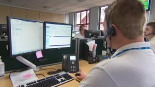 NHS 111 call centre