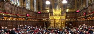 House of Lords (interior)