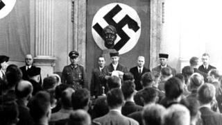 verdict read out against those accused of trying to assassinate Hitler