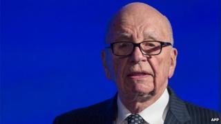 News Corp Chairman Rupert Murdoch