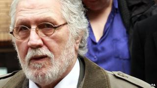 Dave Lee Travis, photographed on 7 February