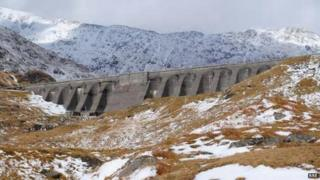 The Cruachan power station was built deep inside the rock of Ben Cruachan
