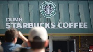 """Dumb Starbucks"" coffee shop in Los Angeles"