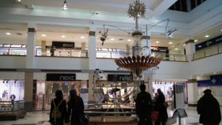 The Emett Clock in the Victoria Centre