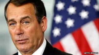 John Boehner, speaker of the House of Representatives