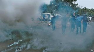 Anti-government protests in Nairobi (13/02)