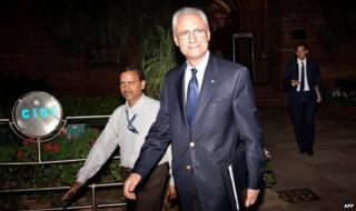 Italy's ambassador to India Daniele Mancini (file pic)