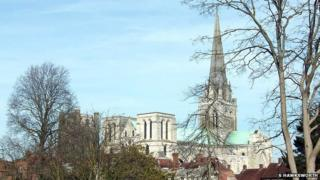 Chichester Cathedral (c) Sarah Hawksworth