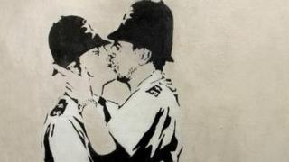 Kissing Coppers