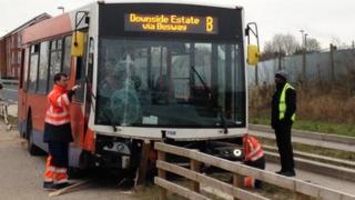 Damaged Centrebus