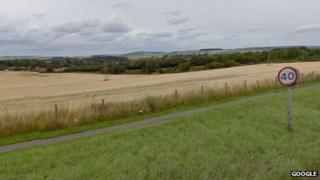 Land near Larkhill