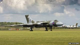 A Vulcan bomber