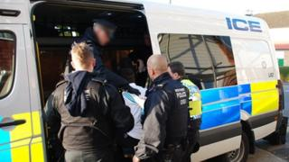 Officers make an arrest